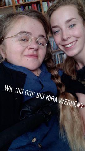 Kirsten en Mira