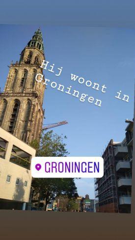 Lukas woont in Groningen