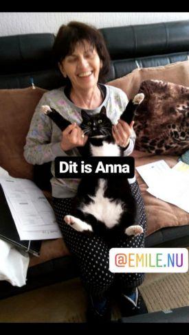 Anna en haar kat
