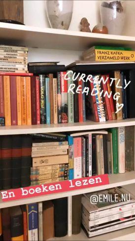 Maarten houdt van lezen